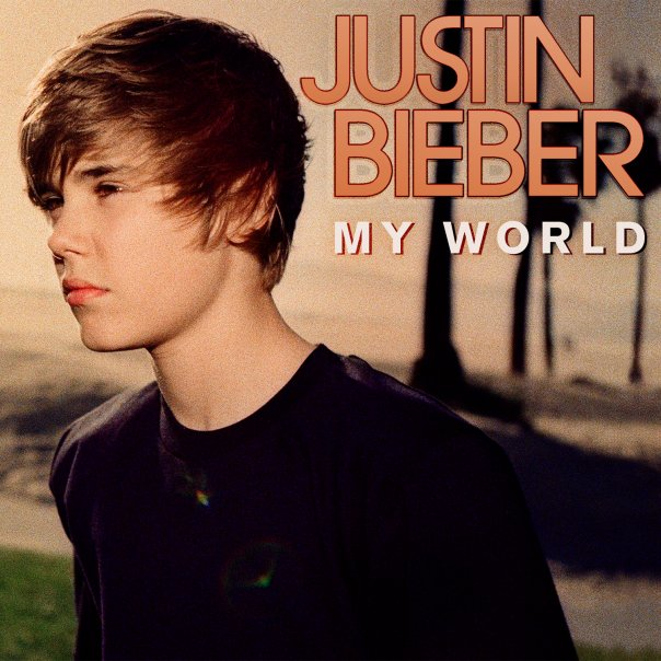 justin bieber my world album cover. Justin Bieber -My World