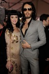 Katy Perry and Fiancee Russell Brand